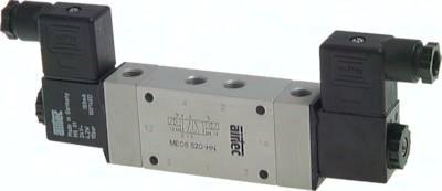 5/2-Wege-Magnetimpulsventile mit Fremdluftanschluss, Baureihe ME