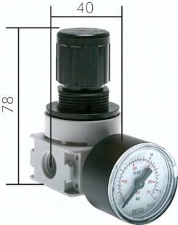 Druckregler - Multifix - für Luft und Wasser, 700 l/min