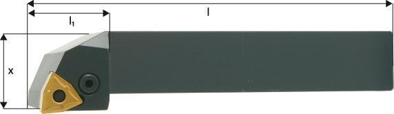 ISO-Klemmhalter 95° PWLNR/L