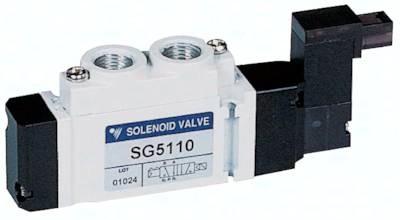 "5/2-Wege-Magnetventile G 1/8"", Baureihe SC300"