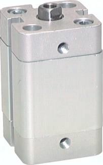 Kompaktzylinder einfachwirkend mit Magnetkolben, NXE