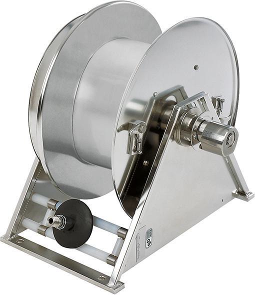 Edelstahl-Schlauchaufroller Model VA 5000 ohne Schlauch