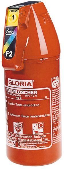 Autopulverlöscher F 2 G