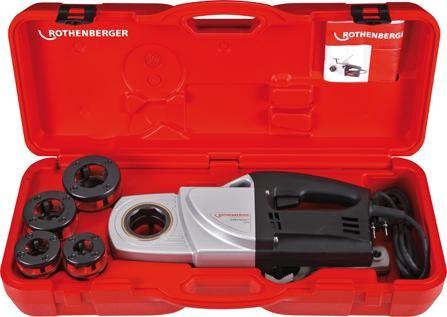 Elektro-Gewinde-Schneidkluppen-Set SUPERTRONIC® 1250