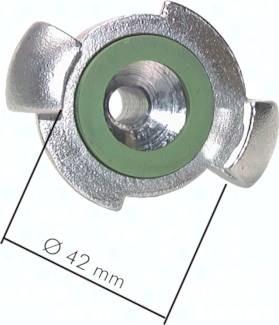 Kompressorkupplungen mit Schlauchanschluss, ähnlich DIN 3489