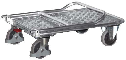 Alu-Magazinwagen (klappbar) , Tragkraft bis 150 kg