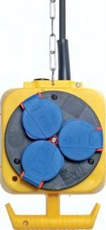Energieampeln mit Luft- und Stromversorgung