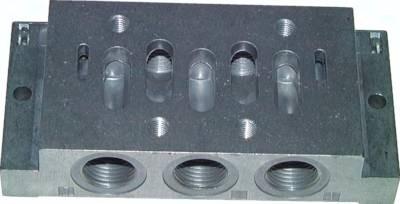 Anschlussplatten für ISO-Ventile (ISO 5599/1), Größe 3