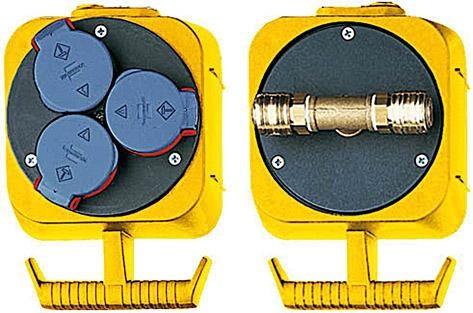 Energie-Block Druckluft 6/12mm Brennenstuhl