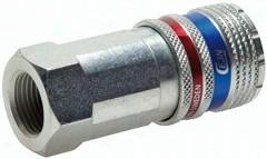CEJN Sicherheits-Kupplungsdosen NW 10 (Innengewinde), ISO 4414/ EN 983