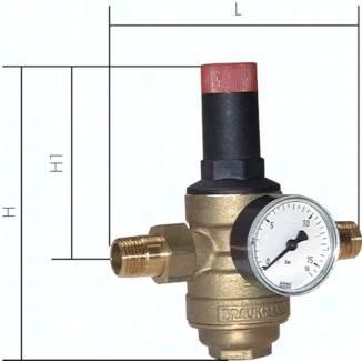 Filterdruckminderer für Trinkwasser und Stickstoff (MS-Siebtasse), PN 25