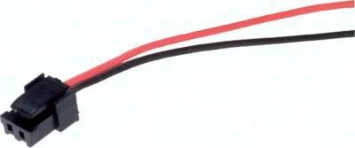 2-Pol Stecker mit Kabel