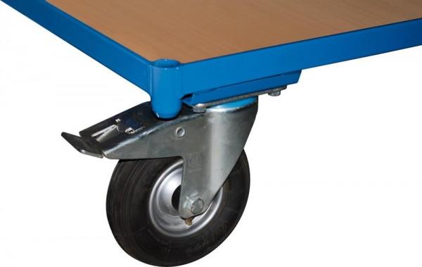 Luftbereifung Ø 230 mm inklusive Lenkrollen mit Radfeststeller