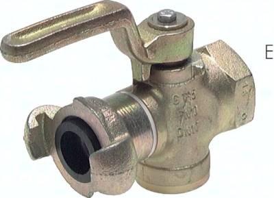 Kükenhähne mit Kompressorkupplung, DIN 3486