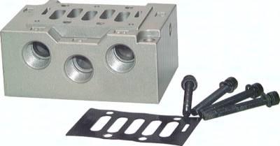 Grundplatten (ISO 5599/1), Größe 2 - Baureihe SIV500