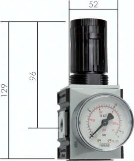 Druckregler Futura-Baureihe 1, bis 2700 l/min