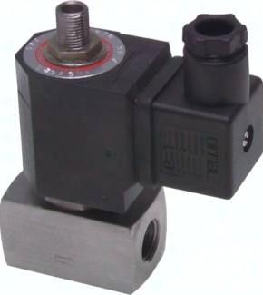 3/2-Wege-Magnetventile aus Edelstahl