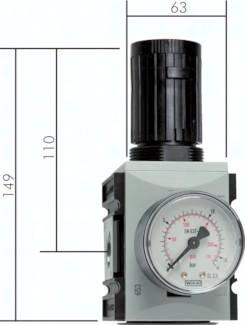 Druckregler Futura-Baureihe 2, bis 5000 l/min