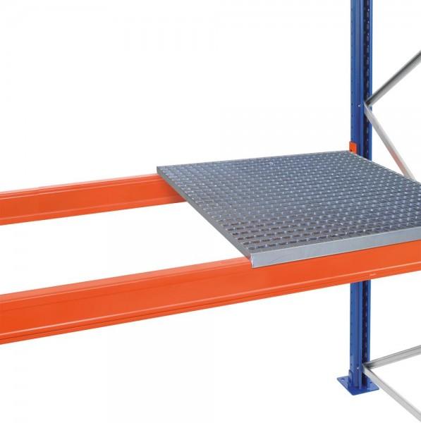 Gitterrost holmbündig, eingelegt, für Holme mit einer Tiefe von 50 mm