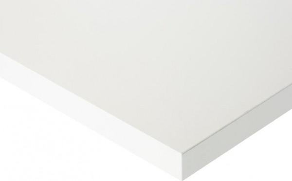 Höhenverstellbarer Arbeitstisch (760-1080 mm) mit Funktionsunterbau Tom, Melaminharz-Platte