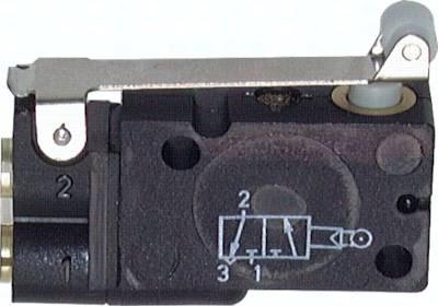 3/2 Wege-Rollenventile, Steckanschluss 4 mm