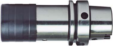 Gewindeschneid-Schnellwechselfutter mit elastischem Längenausgleich, HSK-Schaft. Werkzeugaufnahme DIN 69893