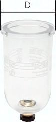Ersatzbehälter für Filter und Filterregler - Standard