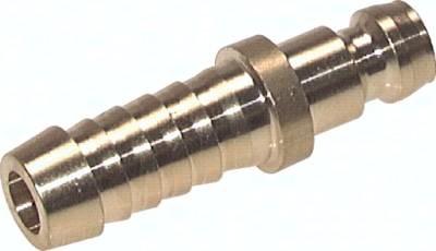 Kupplungsstecker 9 mm Zapfen, gerade Schlauchtülle