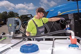 Hybridpumpe HORNET W 85 H INOX zur Förderung von AdBlue®, für 200-l-Fässer