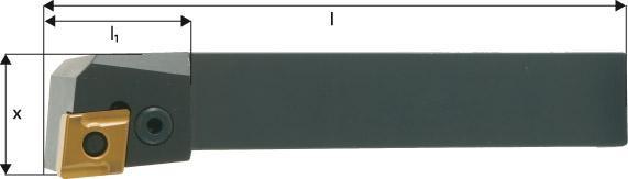 ISO-Klemmhalter 95° PCLNR/L