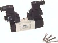 5/3-Wege-Magnetventile (ISO 5599/1), Größe 1 - Baureihe SIV400