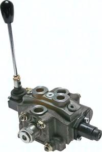 Handhebelventile in modularer Bauweise bis 50 l/mi