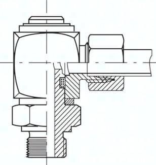 Gleitlager-Winkel-Dreh-Verschraubungen (BSPP)
