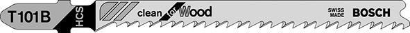 Stichsägeblätter für weiches Holz, gerade, feine Schnitte
