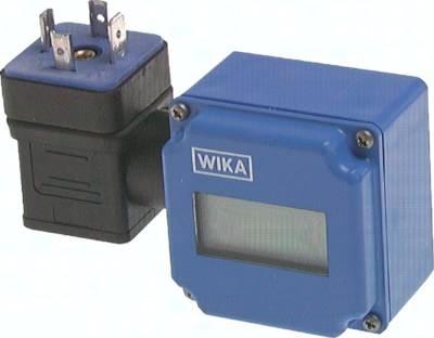 Digitale Aufsteckanzeige für Druckmessumformer (LCD)