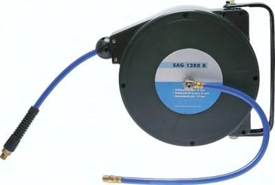 Automatische Schlauchaufroller für Druckluft, 14 bar