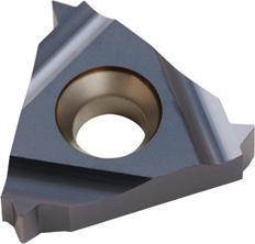 ISO-Gewindewendeschneidplatte, außen, 60° metrisch Vollprofil