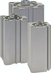 Kompaktzylinder doppeltwirkend mit Magnetkolben, Eco-Line