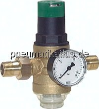 Filterdruckminderer für Trinkwasser und Stickstoff (KU-Siebtasse), PN 16