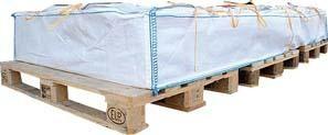 Big Bags für die Asbest-Entsorgung, beschichtet
