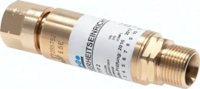 Gebrauchsstellenvorlagen für Druckregler, ISO 5175 (EN 730)